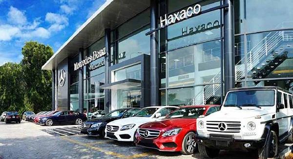 Mercedes Haxaco Hàng Xanh