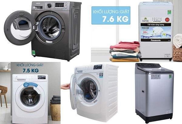 Phân loại máy giặt