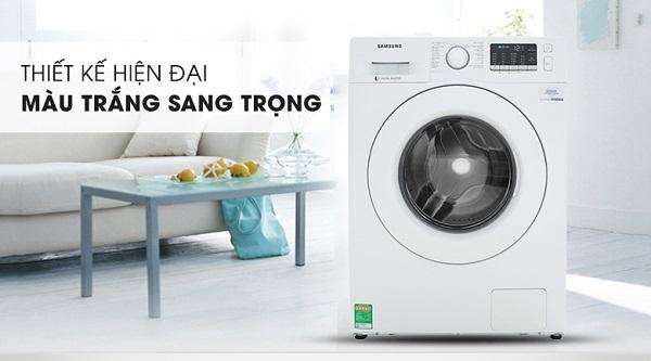 Máy giặt Samsung WW80J52G0KW/SV khối lượng 8kg