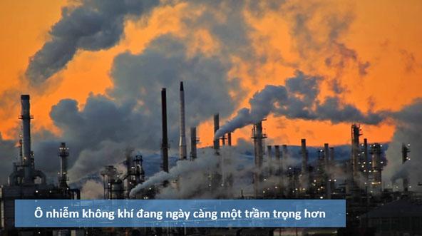 Ô nhiễm không khí là gì, có mấy loại ô nhiễm không khí ?