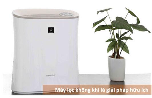 Có nên sử dụng máy lọc không khí để giải quyết vấn đề ô nhiễm không khí?