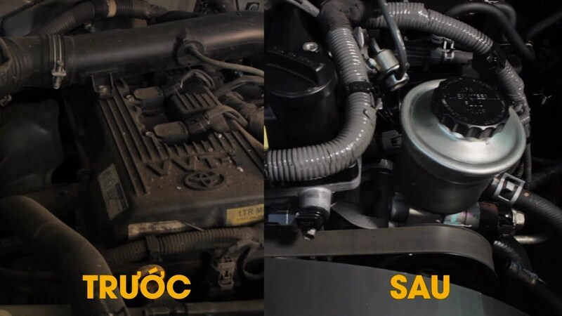 Vệ sinh khoang máy ô tô sẽ duy trì được chất lượng hoạt động cũng như kéo dài tuổi thọ của động cơ
