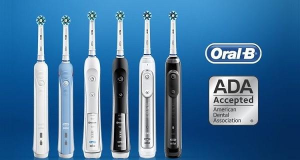 Bàn chải đánh răng điện Oral B