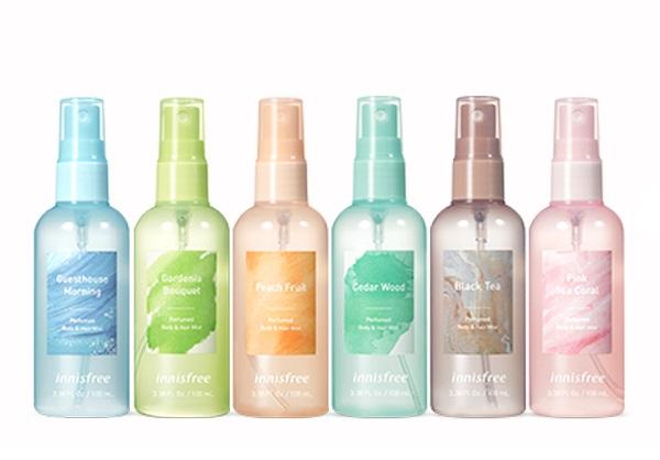 Innisfree Perfumed Body & Hair Mist