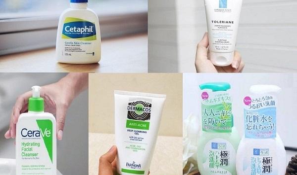 Nên lựa chọn đúng sữa rửa mặt trị mụn để hỗ trợ quá trình điều trị mụn