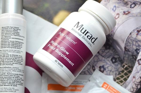 Viên cấp nước Murad Hydro Glow Dietary Supplements