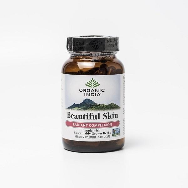 Viên uống trị mụn Beautiful Skin Organic India