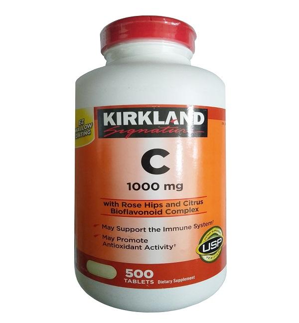 Viên uống vitamin C 1000mg Kirkland