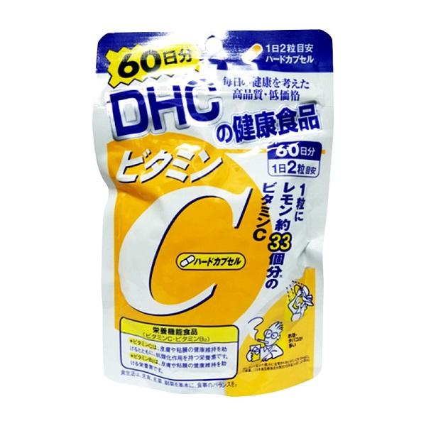 Viên uống DHC bổ sung vitamin C của Nhật