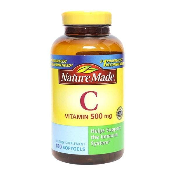 Viên uống bổ sung vitamin C 1000mg Nature Made