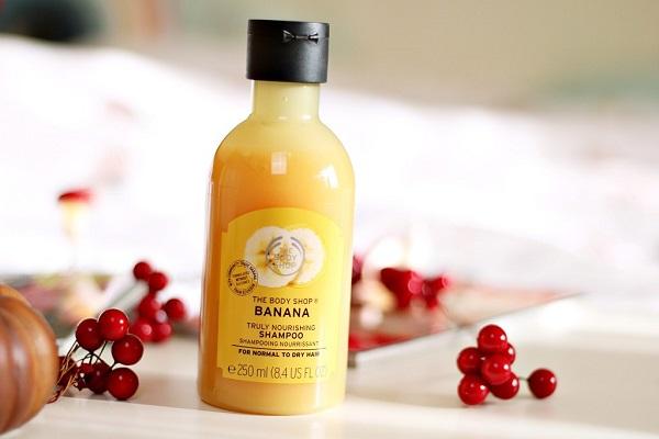 The Body Shop Banana Shampoo For Oily Hair