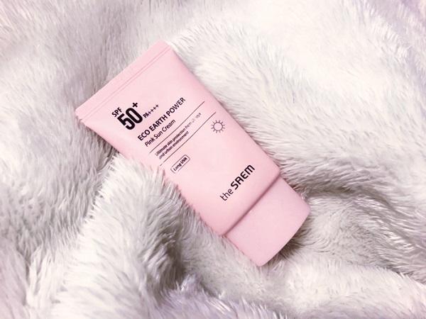The Saem Eco Earth Power Pink Sun Cream