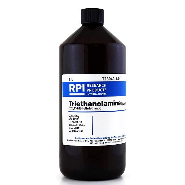 Triethanolamine là một trong những thành phần được sử dụng phổ biến trong cả y tế và mỹ phẩm
